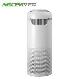 艾吉森至尊TKJ600F-T01S 空气净化器家用多功能负离子除霾杀菌除甲醛办公室二手烟净化器T01S 白色