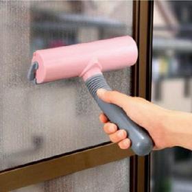 你家的纱窗今年擦了吗?多功能纱窗清洁刷  自动吸灰  免水洗 告别抹布清洁剂!