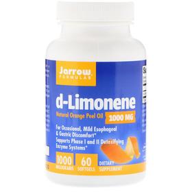 Jarrow Formulas  d-柠檬烯,1000 毫克,60 粒软胶囊