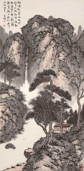 树淹轩窗水艳村