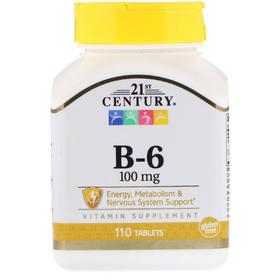 21st Century B-6,100 毫克,110 片