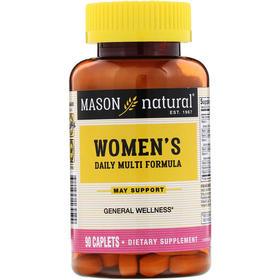 Mason Natural 女性每日配方,90 片囊片