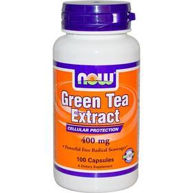 Now Foods 绿茶提取物胶囊,400毫克,100粒