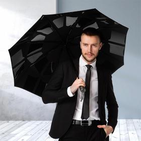 英国CMS专利美收伞 全自动纳米黑胶晴雨伞防风三折叠伞