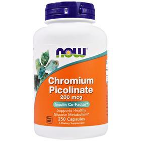 Now Foods Tri-Chromium,500微克,90植物胶囊