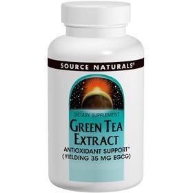 Source Naturals 绿茶提取物片,60片