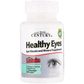 21st Century 健康眼睛,含叶黄素,60 片