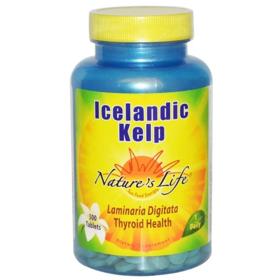 冰岛海藻膳食补充片,500片