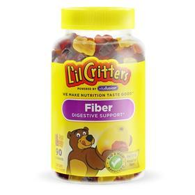 L'il Critters 纤维消化保健,天然水果味,90粒软糖