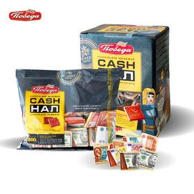 【半岛商城】500克盒装俄罗斯钱币什锦混合口味巧克力美元卢布图案32%52%72%可可脂100小块包邮