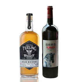 帝霖丝绸之路宁夏木桶珍藏+迦南美地小马驹套装 Teeling Silk Road Collection Ningxia Wine Cask+Kanna Pretty Pony Pack