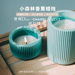 DAILY LAB 小森林系列 香薰蜡烛 扩香石材质礼盒包装