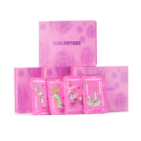 【买二减十 买三送一】无糖玫瑰多肽含片 独立包装 含片设计 玫瑰花清香