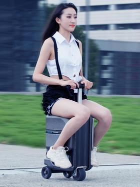 爱尔威SE3mini电动行李箱 骑行电动拉杆箱 电动登机箱智能旅行箱