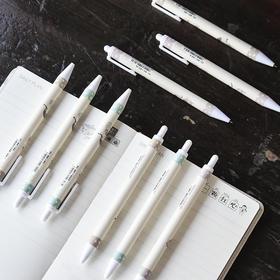 麻球可爱中性笔学生按动水笔0.5mm女生可爱签字笔黑笔Z