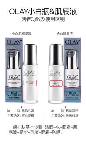 Olay/玉兰油小白瓶光塑精华露尝新装