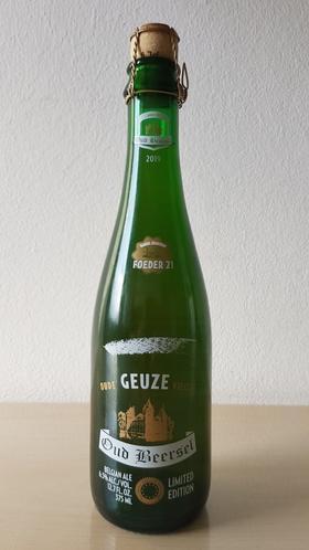 顺丰包邮 高分限量 老贝尔塞精选21号啤酒 Geuze Barrel Selection Foeder 21 375ml