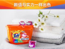 汰渍 Tide3合1洗衣凝珠18颗X3