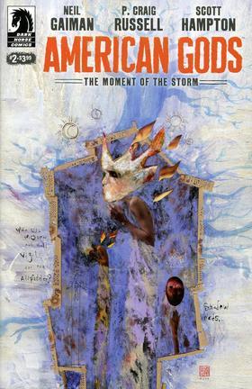 变体 尼尔盖曼 美国众神 Neil Gaiman American Gods Moment Of Storm