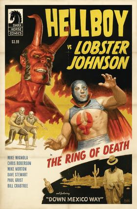 地狱男爵 Hellboy Vs Lobster Johnson Ring Of Death