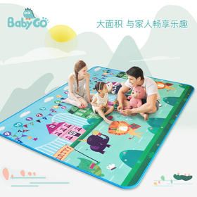 【出游野餐神器】babygo进口户外防水防潮野餐垫子 儿童折叠便携隔热草坪露营地垫