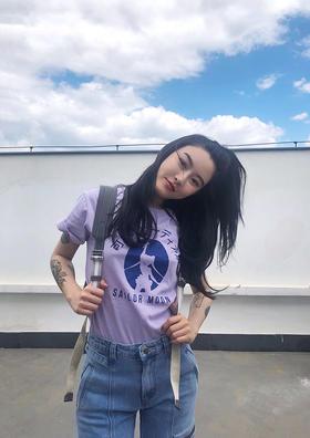 紫薯香芋可爱冲击波美少女T恤
