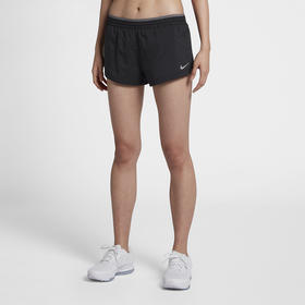 【特价】Nike耐克 女款跑步短裤 - 梭织透气排汗,防走光假两件