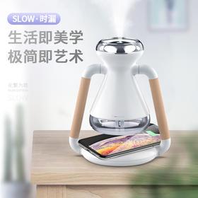 【180°旋转加湿】三板斧时间漏斗加湿器 创意时尚桌面加湿器  驱赶干燥  湿润空气