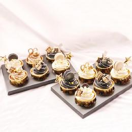 【送礼佳品】新品·黑金版纸杯蛋糕