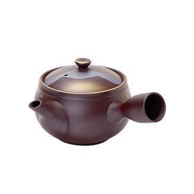 MINOYAKI/美浓烧 日本进口万古窑紫泥茶壶 樱花款有票