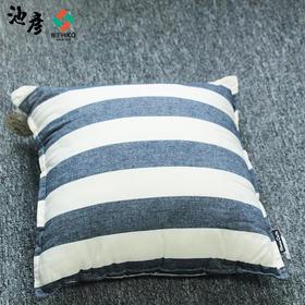 IKEHIKO/池彦日本进口印度棉抱枕客厅卧室办公室靠枕学生抱枕