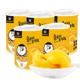 顺心嗨吃家砀山黄桃罐头 | 果肉饱满 甜脆多汁 | 425g/罐【严选X休闲零食】