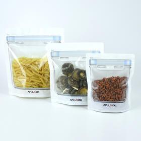 密封立体食品保鲜袋 食品级无毒安全原材料 可微波炉加热可冷冻冷藏 水洗重复使用 双重密封 耐磨损