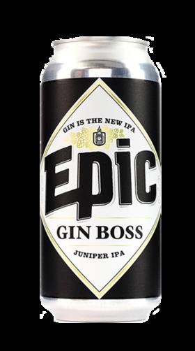 """EPIC GIN BOSS 神话""""金""""老板 金酒+IPA"""