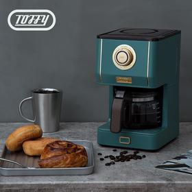 TOFFY复古美式咖啡机家用型电动滴漏式咖啡壶迷你型煮咖啡泡咖啡