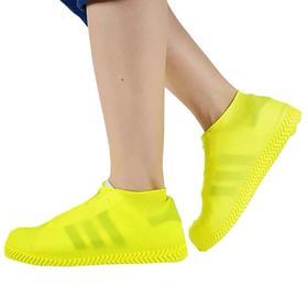 【两件特惠装!可使用20年的鞋套,雨雪天气再也不怕鞋子湿】环保硅胶材质加厚防水雨鞋套 轻轻一卷可收纳