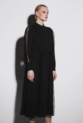 COPURS 19AW JAMUNA 百褶造型连衣裙