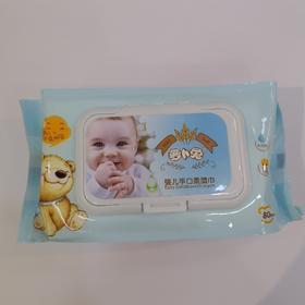 萝卜兔婴儿手口湿巾80p