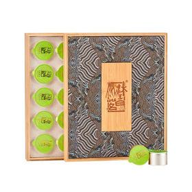 普洱茶 熟茶古树【墨陈】礼盒装茶叶 五年新会陈皮十年景迈宫廷
