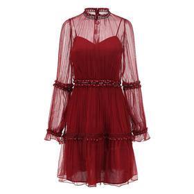COPURS 19AW ARYA 真丝造型连衣裙