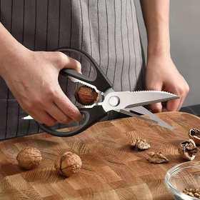 【厨房好帮手】EXARP 多功能不锈钢剪刀
