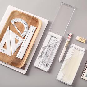 文具套装小学生直尺三角尺多功能绘图测量工具尺子
