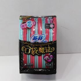 苏菲口袋魔法零味感卫生巾10片