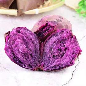 现挖小紫薯5斤装 新鲜沙地番薯农家自种地瓜香红薯紫薯