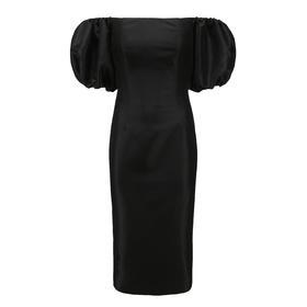 VASSILIS ZOULISAS 19AW 泡泡袖造型连衣裙