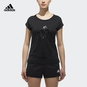 【特价】Adidas阿迪达斯 SS T Leopard 女款运动短袖T恤