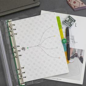 印象自由模板笔记礼包|自由模板笔记基础套装 分隔页套装(含磨砂PVC文件袋+ PVC封皮+ 30页空白内页+ 30页方格内页+16页体验内页+分隔页套装)