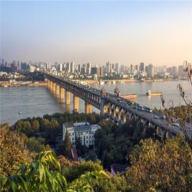 【周日下午】相约武汉龟山徒步+交友,登高远眺长江美色。