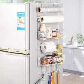 白色花式多功能冰箱挂架