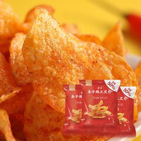 味BACK贵州条子辣土豆片 | 原切土豆 香辣清脆 |  60g/袋【严选X休闲零食】